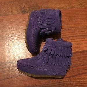 Purple Minnetonka's